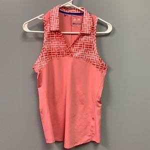 Adidas Women's small tank / golf shirt